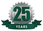 25 years of service excellence