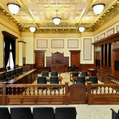 Auglaize County Courthouse Courtroom