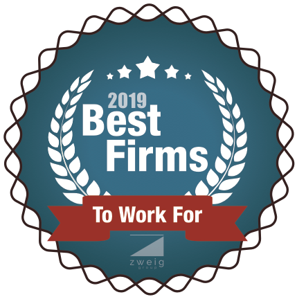 2019 Best Firms to Work For Award