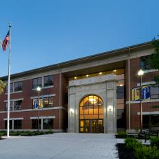 Donnell Middle School Exterior
