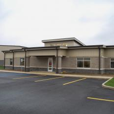 Mercer County Engineer Facility Exterior